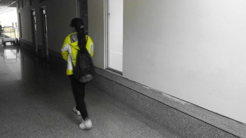 Girl Walking Friend My Sister
