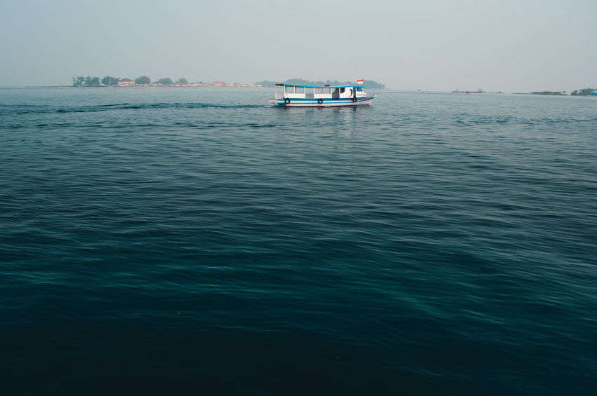 Beauty In Nature Blue Day First Eyeem Photo Horizon Over Water Mode Of Transportation Nature Nautical Vessel No People Outdoors Rippled Sailing Scenics - Nature Sea Sky Tranquil Scene Tranquility Transportation Travel Water Waterfront Adventures In The City