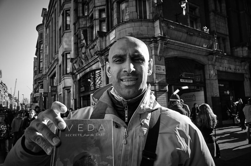 This guy so badly wanted to promote book he was selling, so he asked me to take picture of him(or may be of his book). If you ever had an idea that you have come from another planet, this book may be a good read for you, but please, do not take it too seriously. City Street EyeEm Best Shots EyeEmBestPics Eye4photography  Urban Enjoying Life Leicaxvario Leica Maxgor City Week Of Eyeem Londonstreets Black & White Maxgor.com London Streetphoto Rawstreets Street Photography Streetphotography Street Real People Soho Original Experiences Monochrome Photography