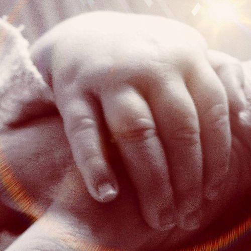 Love baby hands