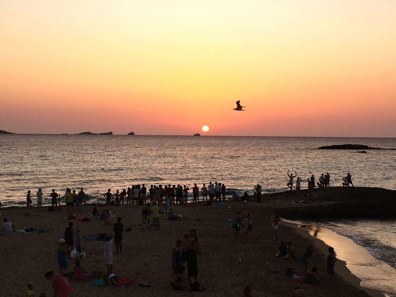 Enjoying The Sun Enjoying Life EyeEm Best Shots Holiday Good Times Sunset_collection Ibiza Calacompte