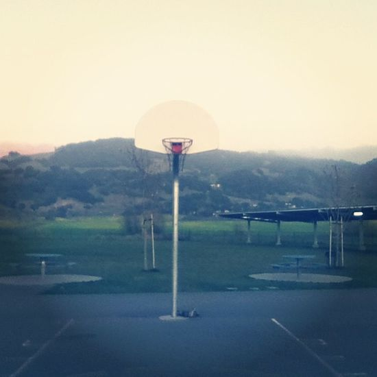 Quick Basketball Session Earlier freezing