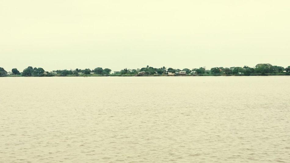 River Life Upoblation Rural Landscape