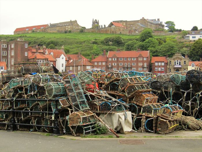 Crab Pots By Street