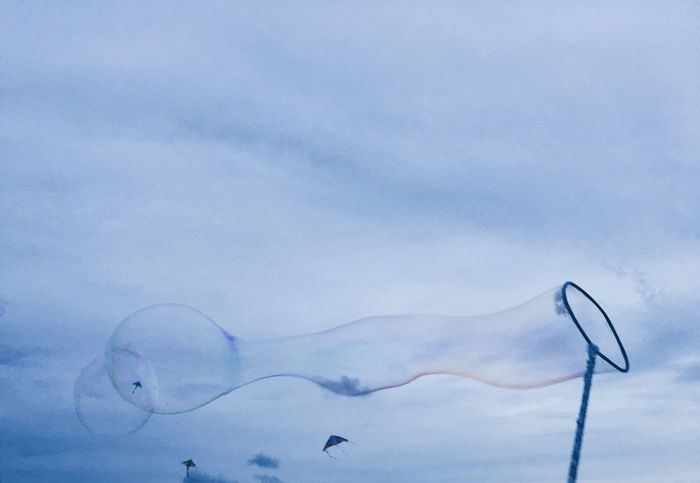 Bubbles Bubble Bubbly Blue Blue Sky Check This Out Hanging Out Hello World Relaxing Taking Photos Enjoying Life Nature By The Beach Beach Beachphotography Blowing Bubbles Soap Bubbles Fun Roadtrip Dawn Throwback Nature_collection Relaxing Relax
