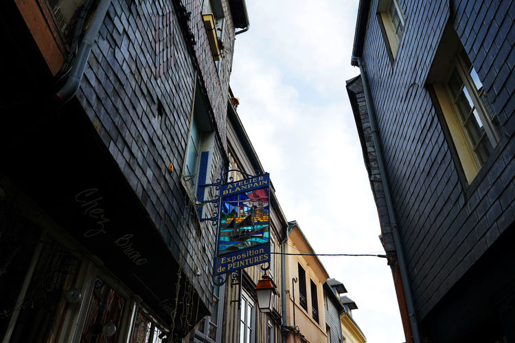 France Honfleur October Travel Photography Architecture Building Exterior Built Structure Day Low Angle View No People Outdoors Sky With Wife Wood - Material EyeEmNewHere