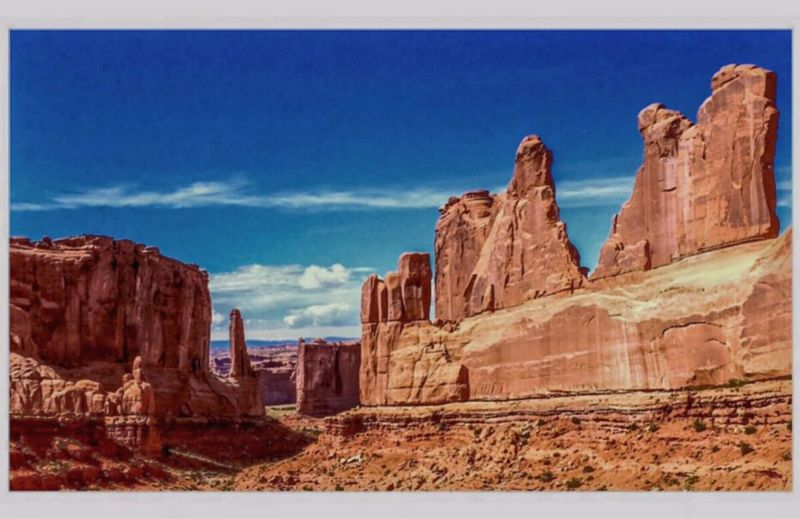 """""""Broadway"""" The second most iconic landscape after the arches of course. Arches National Park, Utah Check This Out The KIOMI Collection Other Worldly Threatened Habitats EyeEm Nature Lover Enjoying Life Eye4photography  EyeEm Best Shots EyeEmBestPics Malephotographerofthemonth Iphonephotography IPhoneography From My Point Of View Desert Beauty Beautiful Desolation Desert Life Deserts Around The World This Week On Eyeem"""