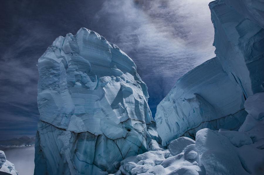 Crevasse diving Mt. Baker Crevasse Landscapes The Great Outdoors - 2016 EyeEm Awards Ice Age
