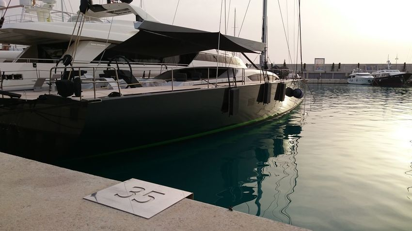 Architecture Design Mode Of Transport Moored Nautical Vessel No People Reflection Sea Water