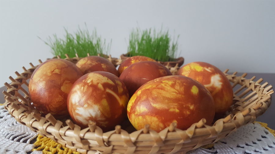 Basket Food Healthy Eating Ready-to-eat Easter Easter Ready Easter Eggs Easteregg Oldfashionedeasteregg