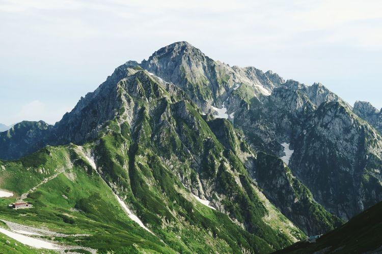 劔岳 Mountain View 山