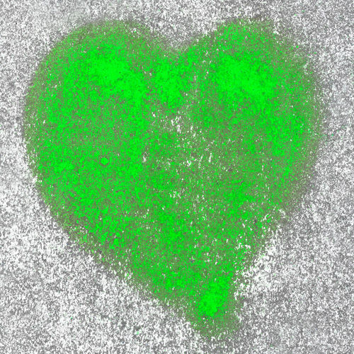 Green heart spray painted on a wall in the background Abstract Art Backgrounds Celebration Design Dirty Drawing Drawn Graffiti Grunge Hand Happy Icon Ink Isolated Love Painted Romance Romantic Shape Sign Splatter Spray Textured  Valentine's Day