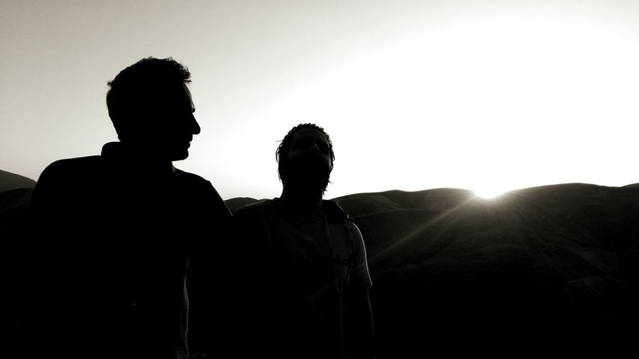 Light Portrait Sky Relaxing Light And Shadow Light Blackandwhite Live Friendship Togetherness Men Bonding Sunset Silhouette Couple - Relationship Young Men Love Sunlight Shining Backpack Mountain Climbing Hiking Free Climbing This Is Natural Beauty The Modern Professional 2018 In One Photograph Moments Of Happiness It's About The Journey Redefining Menswear My Best Photo The Traveler - 2019 EyeEm Awards The Mobile Photographer - 2019 EyeEm Awards The Portraitist - 2019 EyeEm Awards The Great Outdoors - 2019 EyeEm Awards