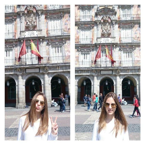 Madriiiid ❤❤ Me Plaza Mayor Madrid city trip weekend collage photo cool like cute beauty love likeforlike followme moment likeit loveit followforfollow happy good instaphoto instacool instalike