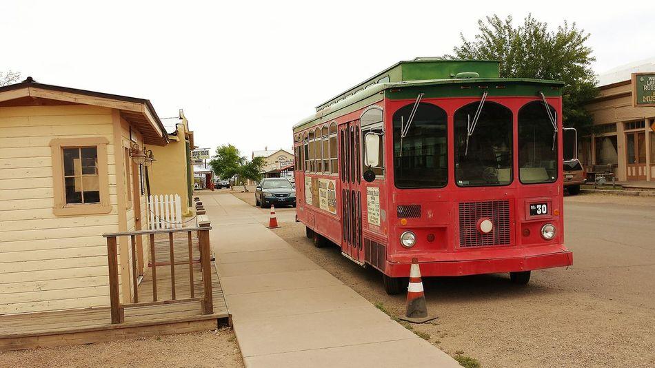 Tombstonelovers Arizonasunsetsarethebest Trolleys Travelingram Roadtrippin