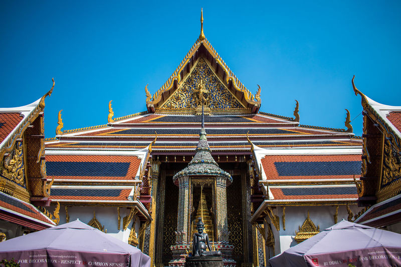 King - Royal Person Gold Place Of Worship Religion Arts Culture And Entertainment Blue Pagoda Cultures Sky Architecture