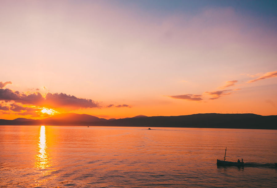 Views that make you happy. Beauty In Nature Day Greece Greece, Loutraki Hydra Landscape Nature Nikon No People Outdoors Photo Photography Sea Sky Sunset Water EyeEmNewHere The Traveler - 2018 EyeEm Awards The Great Outdoors - 2018 EyeEm Awards