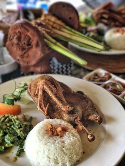 Bebek @ Bebek Tepi Sawah, Bali Food Balinese Food Bali Roast Duck Duck EyeEmNewHere
