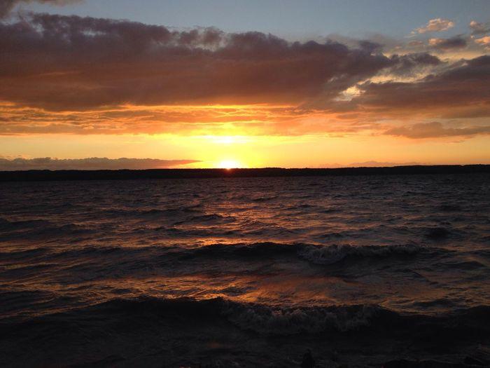 Seneca Lake. SenecaLake Fingerlakes New York Sunset Lake