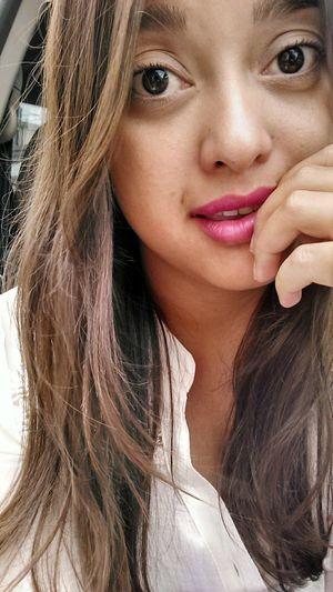 Just Smile ♥ Big Eyes 👀 Lips 💋 Pink 💄Cute 👰