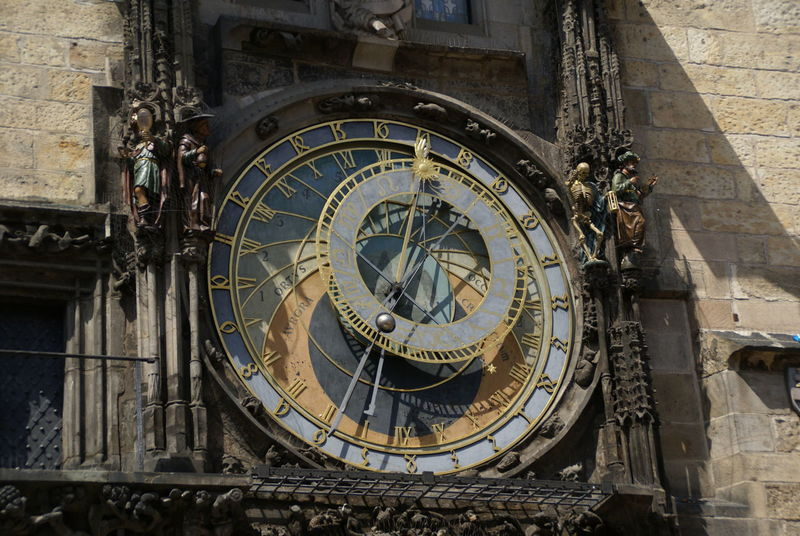 Architecture Astrology Astrology Sign Astronomical Clock Astronomy Building Exterior Clock Clock Face Clock Tower Close-up Day History Medieval Minute Hand No People Outdoors Roman Numeral Space And Astronomy Time Travel Destinations