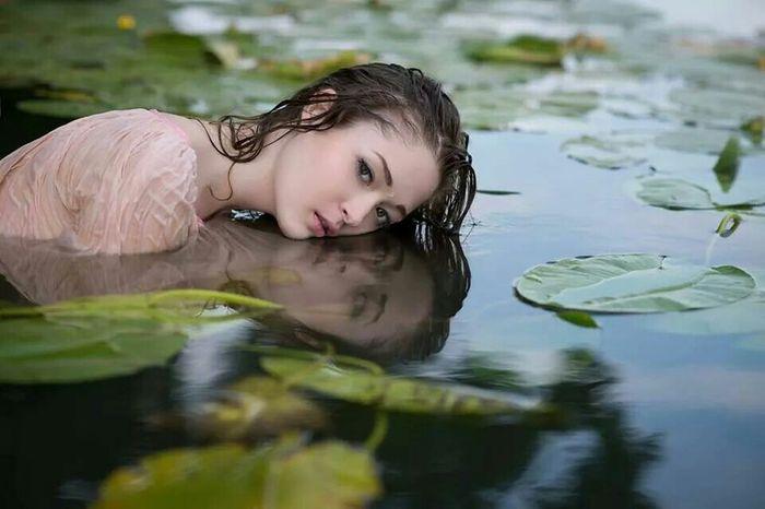 MSM Photography Model Portrait Ukrainian Girl Russian Girl Fashion Photography Colour Portrait Beauty Women People Water Flowers