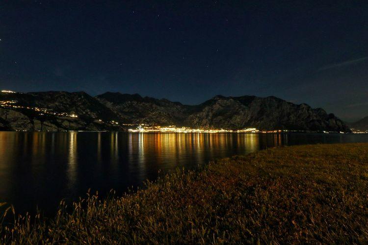 Stars over limone - lago di garda