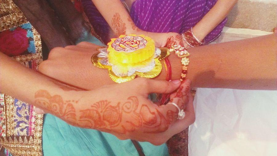 Rakhi Festival Brother & Sister Eye Em Best Shots #jabalpur #hinduism