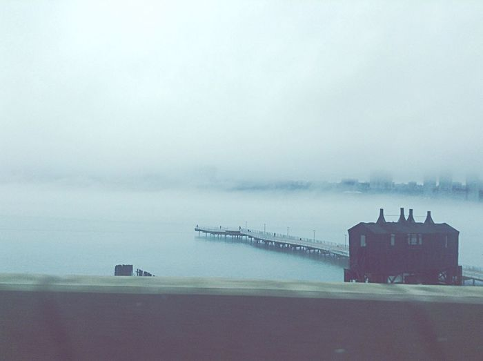 Fog was nuts today 🌁