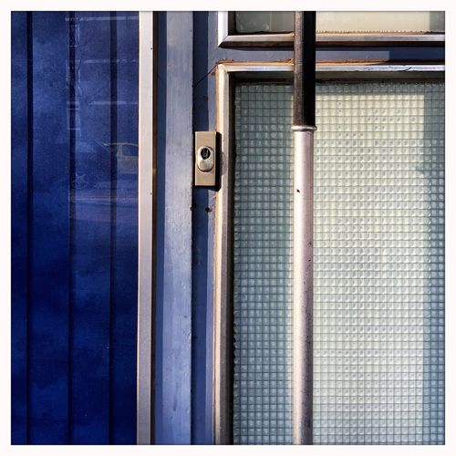 Architectural Feature Lines And Shapes Architectural Detail Light And Shadow Silver  And Blue Textures And Surfaces Simplicity Beauty In Ordinary Things Outdoors Façade