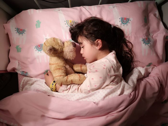 International Women's Day 2019 Human Hand Child Bedroom Childhood Bed Stuffed Toy Teddy Bear Girls Pink Color New Life
