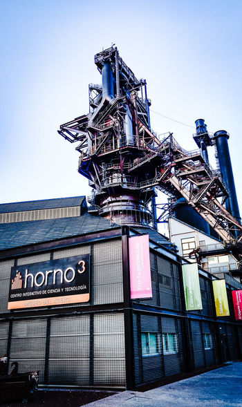 Horno3 Amusement Park Built Structure Architecture Monterrey Museum Metal Industry Fundidora Building ExteriorMexico Metalic Structure Metal Structures No People