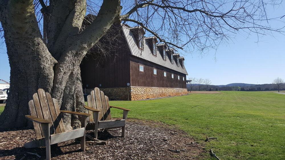Cartersville, GA #Rustic #barn #countryside #adirondackchairs Shadow Grass Sky
