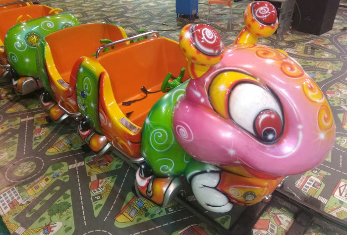 Kids Train Kids Rides