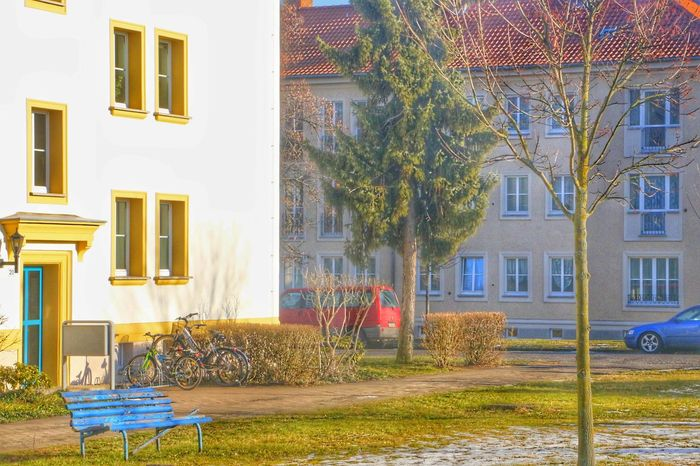 HDR Building Exterior House Residential Building Window Outdoors City Day No People Tree Lovely Berlin Love Beauty In Nature Canon70d Mylens