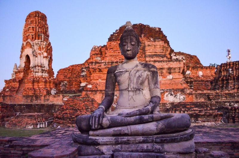 Buddha statue at a temple