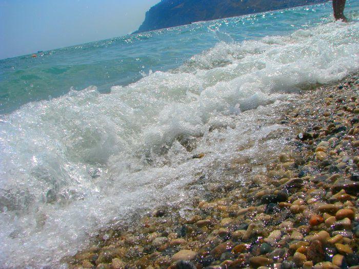 Waves , Sea , Summer , лето , Море , пляж , Крым , коктебель