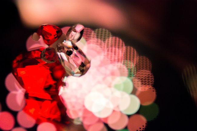 Bokehlicious Thun Xmas Xmas Decorations Arts Culture And Entertainment Bokeh Bokeh Photography Close-up Focus On Foreground Illuminated Indoors  Night No People Svarovski Thunderstorm
