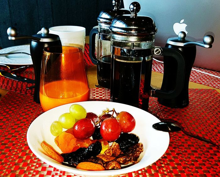 Fruit Food Food And Drink No People Ready-to-eat Coffee And Sweets Milk Samsungphotography Breakfast Indonesia_photography