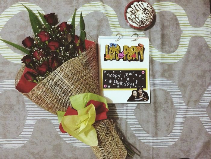 Simple gifts worth treasuring. Blessed to have friends like them. This is for keeps ❤️ 18th Birthday Red Roses Vintage Moments Vintage Roses