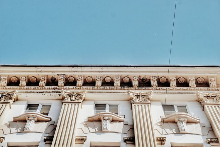 Built Structure Architecture Outdoors Travel Destinations History Day Building Exterior Low Angle View Travel Architectural Column No People Sky City Close-up архитектура Россия арт  НижнийНовгород EyeEmNewHere