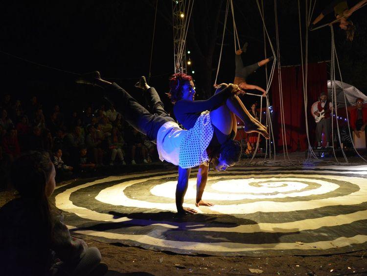 Villa Gesell Cirque Artist Summer 2015 Circo Del Aire
