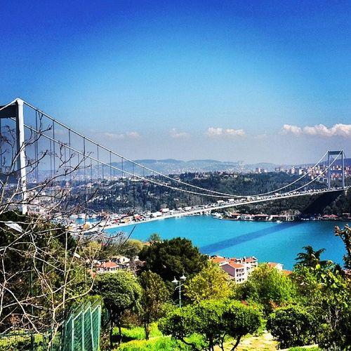Ohannes Istanbul Rumeli Hisar manzarayazgeldigüzelşehrime