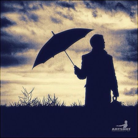Umbrella Darkness And Light Grunge Light Art Dark Light And Shadow People Man Color Portrait How's The Weather Today?