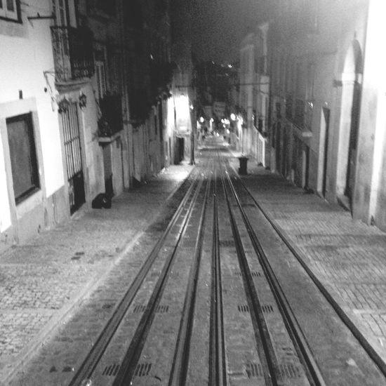Lisbon Lisboa Portugal Railway Bica Elevador Santos Populares