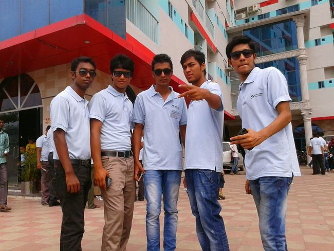 Me & with my friend's