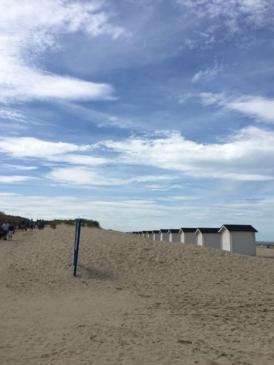 Cloud - Sky Land Sky Beach Sand Built Structure Architecture Nature Beach Hut Sea Tranquil Scene Day Scenics - Nature Beauty In Nature Tranquility Hut Building Exterior Water Outdoors No People