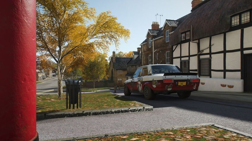 FH4 Forza Horizon 4 Forza Horizon Building Exterior Architecture Transportation Tree City Mode Of Transportation Plant Built Structure Street Motor Vehicle Land Vehicle Car Nature Day Building Road Sunlight No People Outdoors Residential District Change