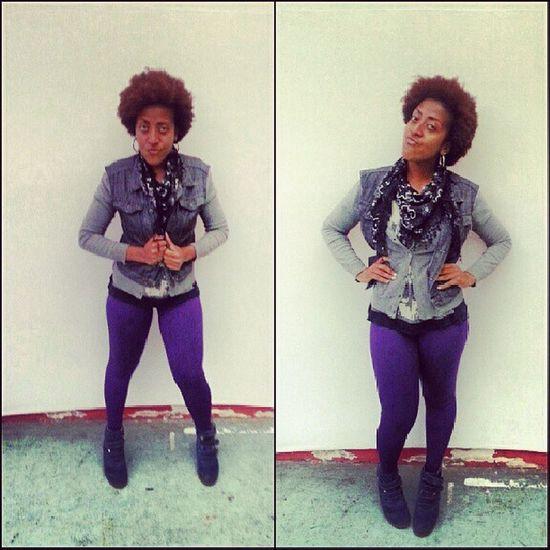 Looktonight Amazing Amazinggirl PowerGirl beautiful cat blackwoman style swag curlyhair rolê wednesday Boa Noite HAHA fui