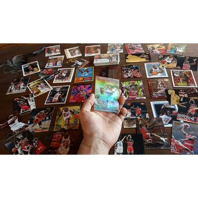 "My ""Personal Legend"" - My Precious Michaeljordan Mj Iwannabelikemike 23 45 basketball cards childhood collection backinthedays sports balling hoops fleer upperdeck nba instaballer instagood"